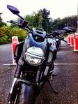 Ducati Diavel front