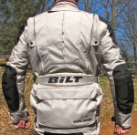 BILT ADV Waterproof Jacket Back