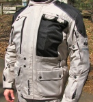 BILT ADV Waterproof Jacket  Front Vent 2
