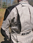 BILT ADV Waterproof Jacket  back vent